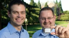 Daniel Rossi (UW MBA 2010) and Dustin Miller (UW PhD student), Nanocel founders