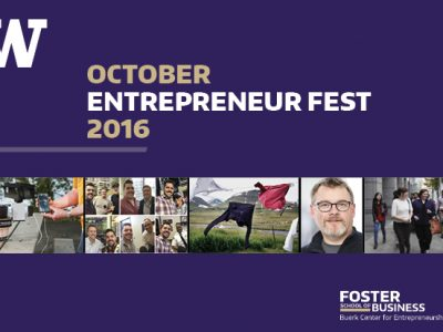 Entrepreneur Fest Open To UW Students In October