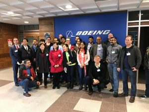 TMMBA Students at Boeing