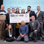 BeeToxx won the $10,000 Herbert B. Jones Foundation second place prize at the Alaska Airlines Environmental Innovation Challenge, hosted by the Buerk Center for Entrepreneurship.
