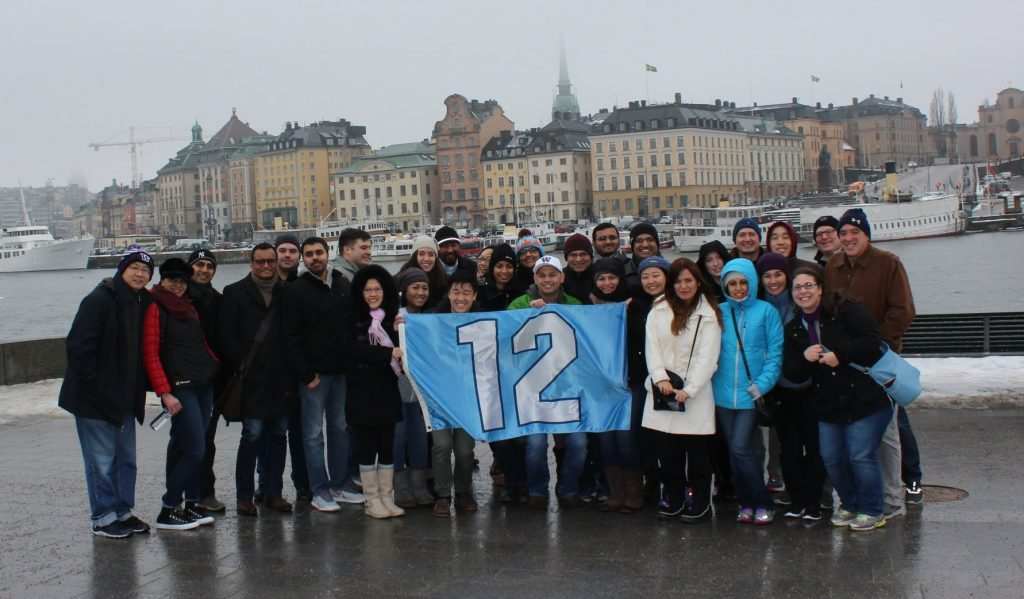 TMMBA students in Stockholm, Sweden.