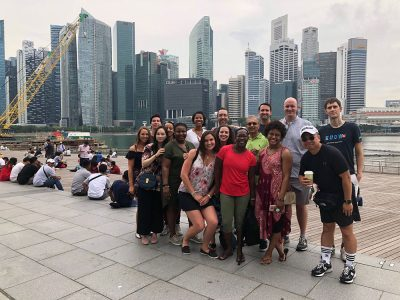 Executive MBA students travel internationally