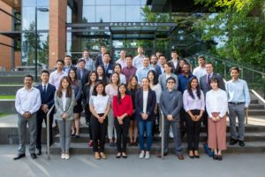 Master of supply chain management program new class