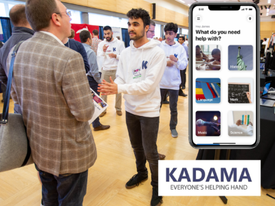Kadama is a student startup that graduated in February from the Jones + Foster Accelerator, hosted by the UW Foster School's Buerk Center for Entrepreneurship, with an app that connects the community with tutoring