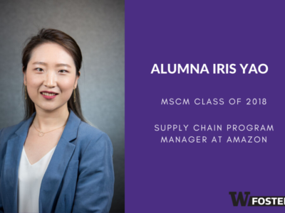The Culture at UW According to MSCM Alumnus Iris Yao